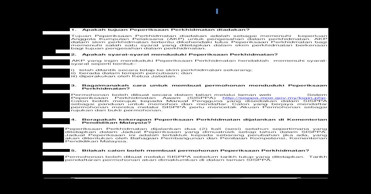 Soalan Lazim Peperiksaan Perkhidmatan Awam Ditetapkan Dalam Jadual Peperiksaan Yang Dimuatnaik Setiap Tahun Berapakah Kertas Peperiksaan Yang Unit Peperiksaan Perkhidmatan Pdf Document
