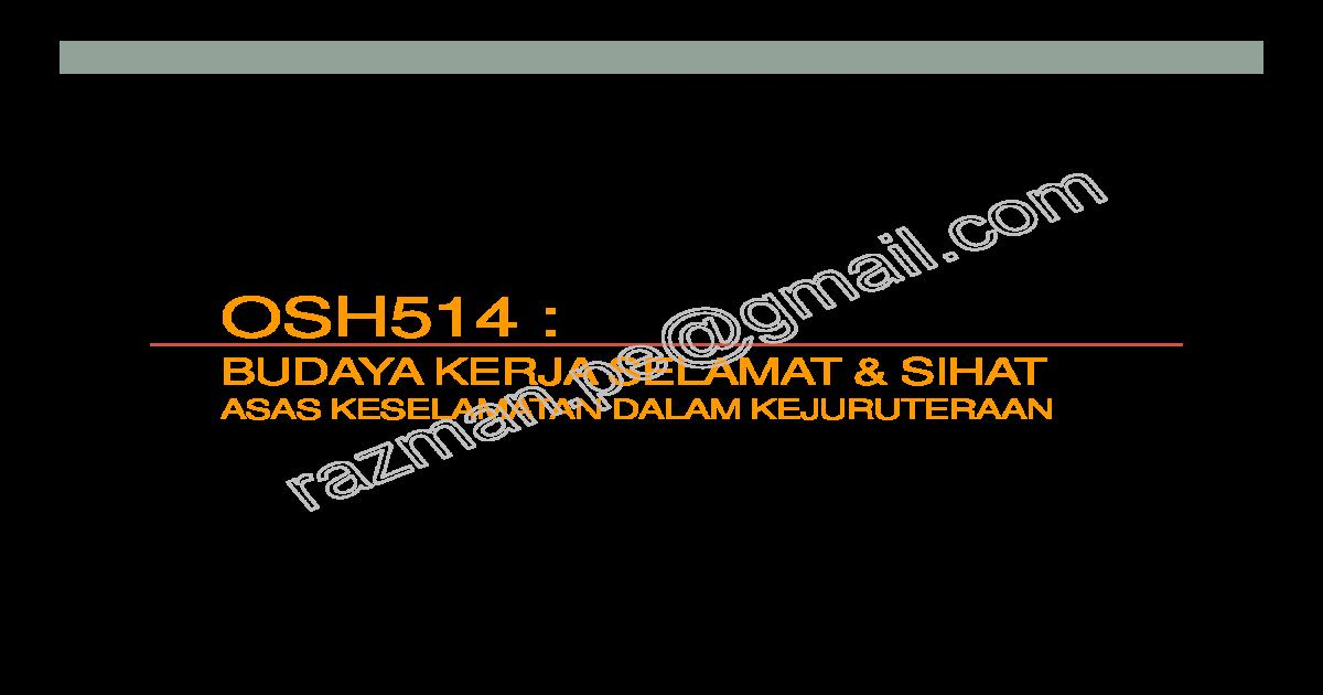 Asas keselamatan dalam kejuruteraan (elektrik, mekanikal dan