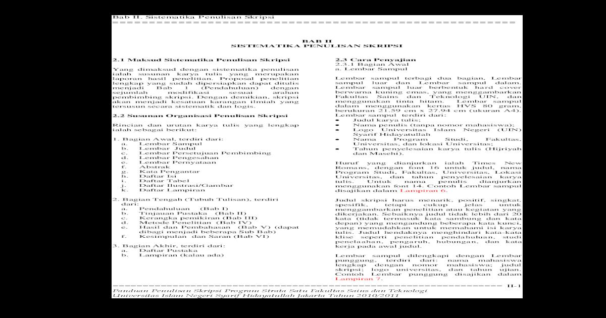 03 Bab Ii Skripsi Fst 4 11 9 Pdf Document