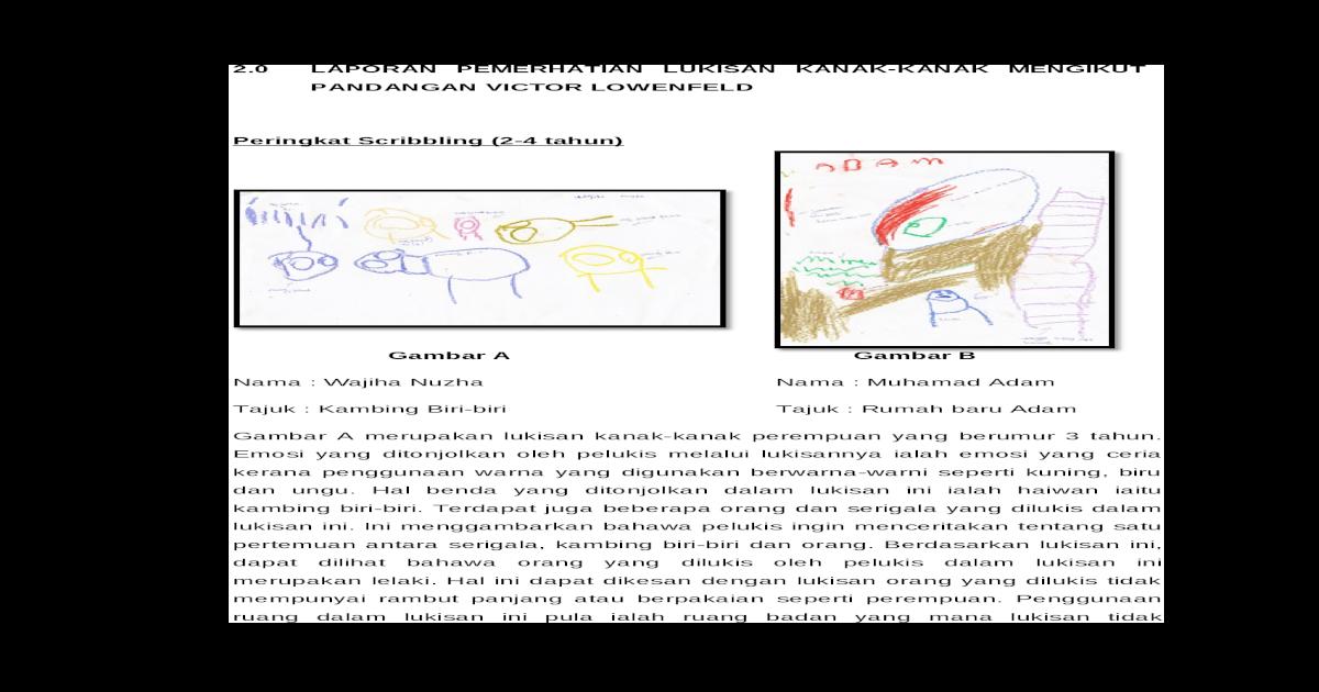 Laporan Lukisan Doc Document