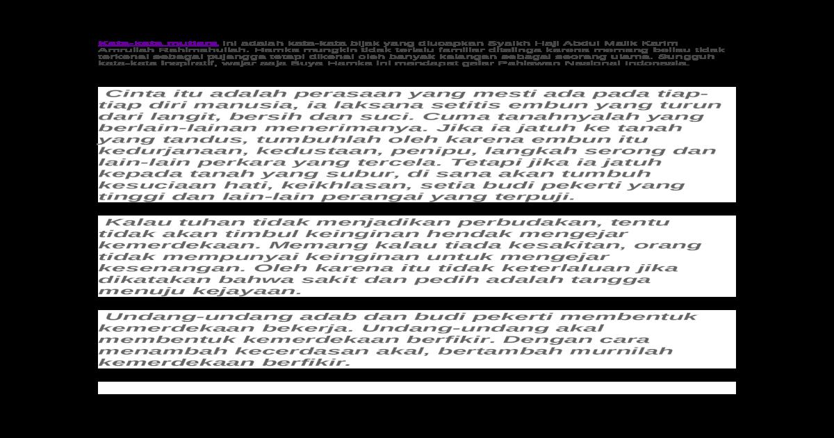 Kata Hikmah Docx Document