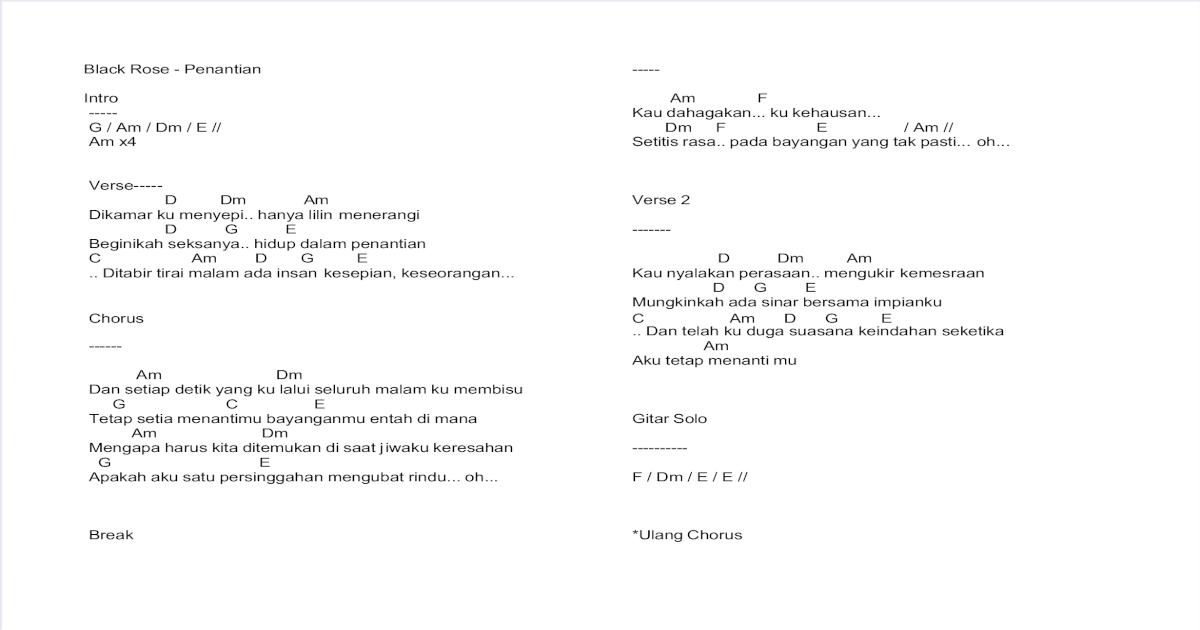 Chord Lagu Pdf Document