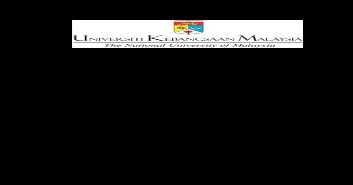 Http Www Ppukm Ukm My Jkm Wp Content Uploads 2018 01 Upm Laporan Latihan Industri Pdf